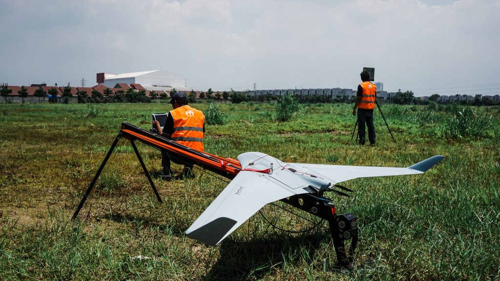 One of Terra Drone Technology Malaysia military-grade high-endurance drones