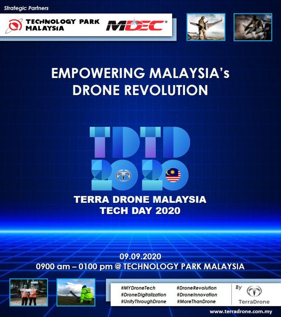 TDTD2020 Terra Drone Tech Day 2020 Malaysia